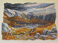 Leaving An Gorm Loch, mixed media, 42 x 62cm, £690