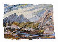 Lewisian Rocks, mixed media, 41cm x 59cm, £680