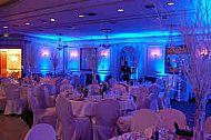 blue uplight