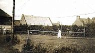 The original Cromarty tennis courts