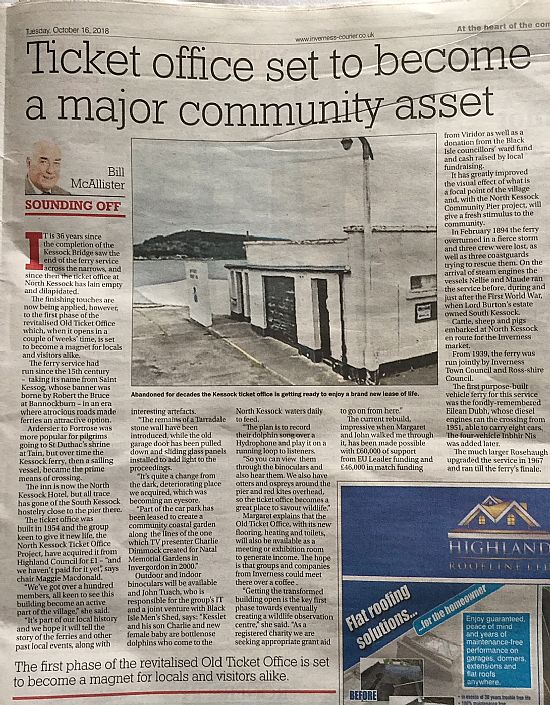 inverness courier article