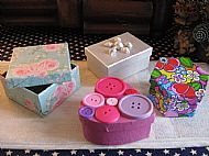 Decorated Boxes £3.50 - £4.50
