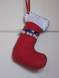 Christmas Stocking £2.50