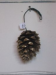 Fir Cone Colour Gold £1.50
