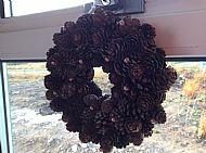 Pine Cone Wreath £15.00
