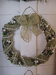 Beaded Wreath
