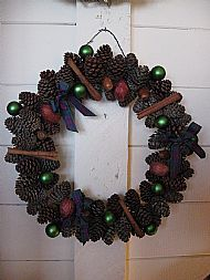 Fir Cone Wreath