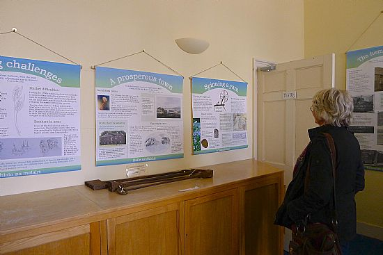 cromarty courthouse trade and industry exhibition by caroline vawdrey