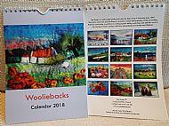 Wooliebacks Calendar 2018