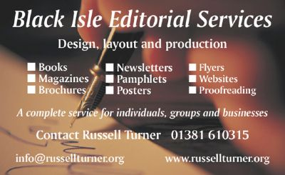 black isle editorial services – design, layout and production