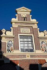 "The gable of the ""Provenhuis Johan van Nordingen'"