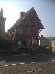 Red House in Newbridge Road, Bath: this is the location of the Alkmaar Mayor's surprise appearance in 1945