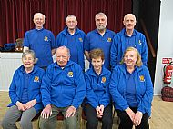 Cromarty Indoor League team 29 November 2016