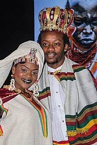 Ethiopian Bride and Groom