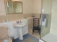 Blue MacNeil en suite shower room
