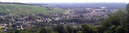 fyne wines in sancerre overlooking saint satur, loire valley, france