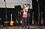 Bethan White on flute