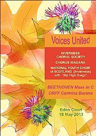 Beethoven Mass in G / Orff Carmina Burana