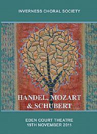 Handel, Mozart, Schubert