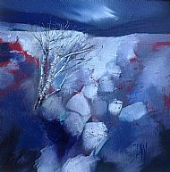 The breath of winter, 30x30cm