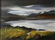 Winter Loch Glascarnoch