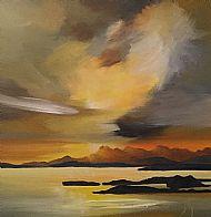 Cuillins September Sky
