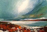 First snow, Duntelchaig
