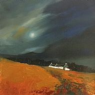 Nightfall, south Loch Ness