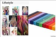 Hot Fashion Healthy Crayons For Hair 12 Color Fast Non-toxic Temporary Pastel Hair DIY Painting Extension Dye Chalk