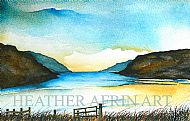 Loch Seaforth Original watercolour