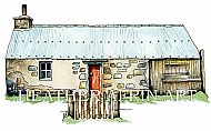 Framed Dalnashallag Bothy