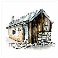 Framed Hutchie Hut 2