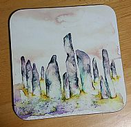 Callanish Stones coaster