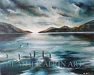 SOLD - Loch Ness Brooding