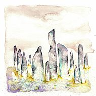 SOLD - Callanish lilac skies