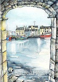 Stornoway Through The Arch