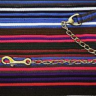 Cushion Web Lead Rein with Chain