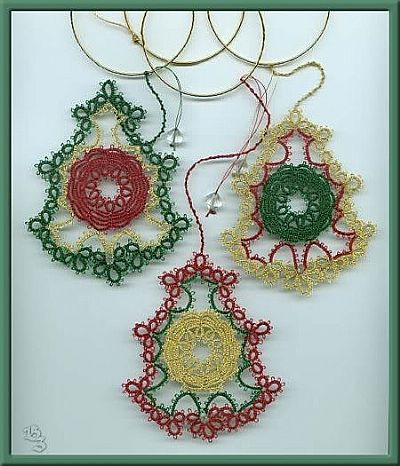 christmas bells designed by m. shaw