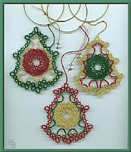 Tatting:Christmas Bells