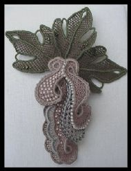 Needlelace Brooch