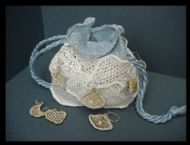 Needlelace Purse