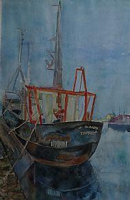 Rusty Trawler Crinan
