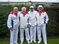 Scottish playoffs senior fours winners 2015