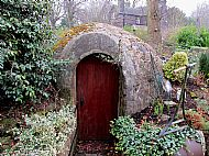 Longfields ice house entrance