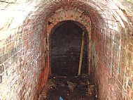 Inside the Sandon Ice House