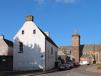 dunblane's leighton library sites close to dunblane cathedral