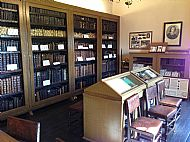 interior of the leighton library, dunblane