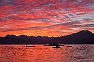 One of many Cuillin sunsets