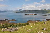 Coral Bay and Loch Eishort