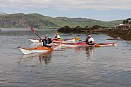 Kayak training, Ord Bay
